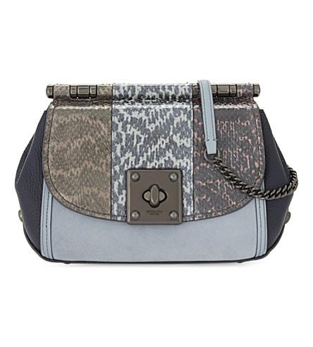 COACH Drifter leather cross-body bag (Snake+multi
