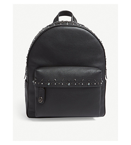 COACH Campus leather backpack (Bp/black