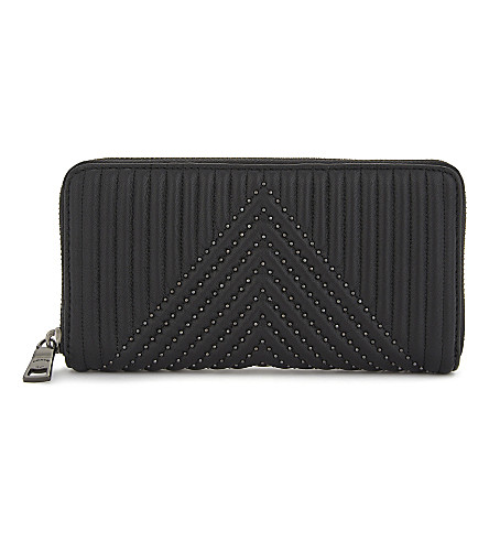 COACH 1941 quilted leather accordion purse (Bp/black