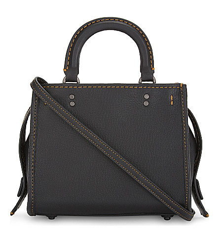 COACH Rogue 17 leather cross-body bag (Bp/black