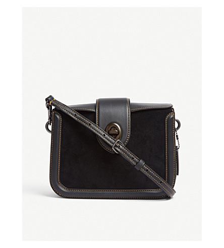COACH Page leather cross-body bag (Bp/black