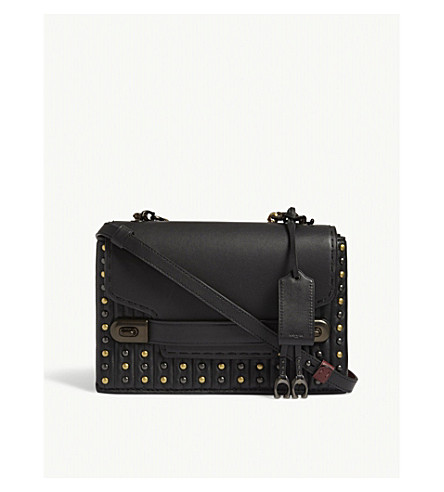 COACH Swagger chain quilted leather cross-body bag (Bp/black