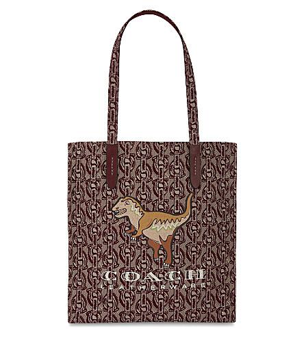 COACH Rexy print tote bag (Bp/wine