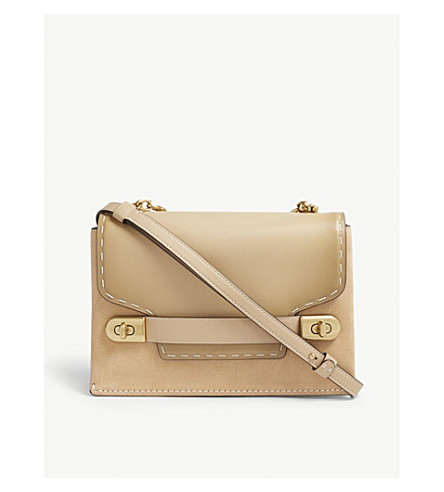 COACH Swagger 28 leather cross-body bag (B4/beechwood