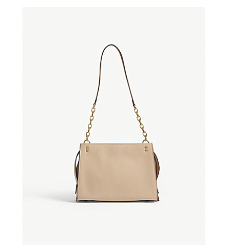 COACH Rogue colour-block leather shoulder bag (Ol/beechwood