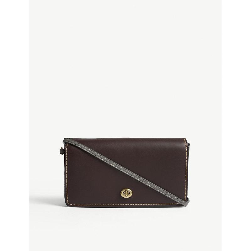 Dinky leather shoulder bag