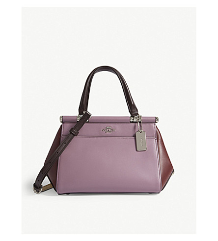 GRACE SMALL LEATHER SATCHEL