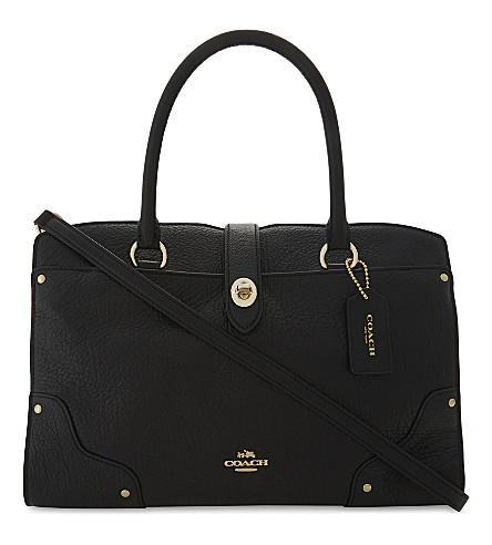COACH Mercer leather shoulder bag (Black