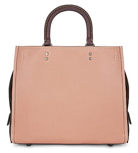 COACH Rogue leather shoulder bag (Bp/melon