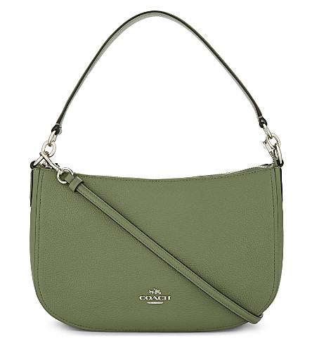 COACH Chelsea leather cross-body bag (Clover