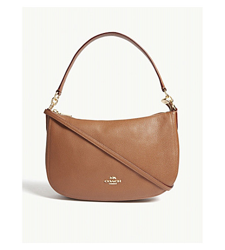COACH Chelsea leather cross-body bag (Li/1941+saddle