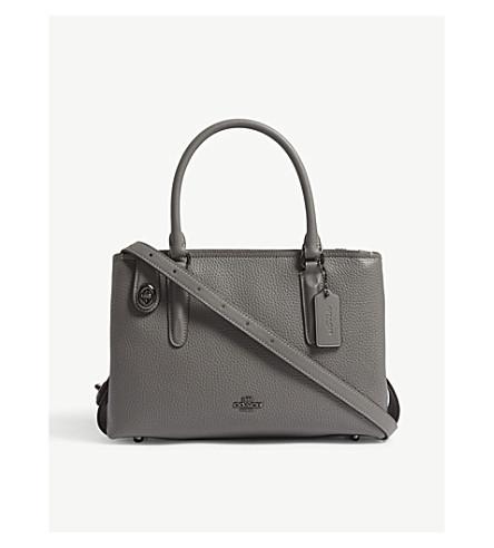 COACH Brooklyn 28 shoulder bag (Dk/heather+grey