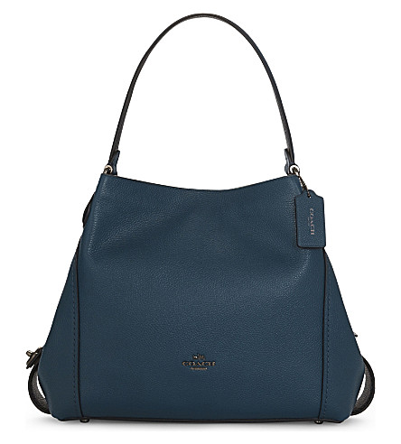 COACH Edie 31 leather tote (Dk/mineral