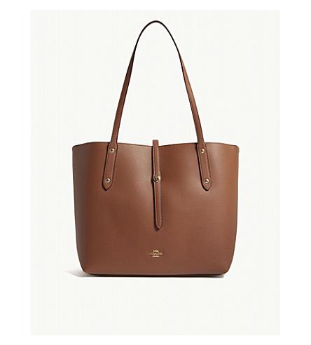 COACH Market leather tote bag (Li/1941+saddle