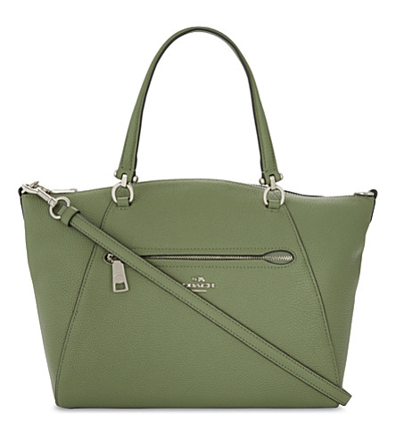 COACH Praire leather cross-body bag (Clover
