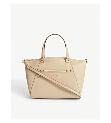 COACH Praire leather cross-body bag (Li/beechwood