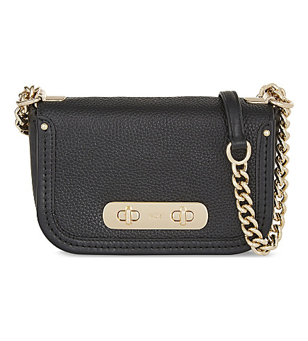 COACH Swagger leather cross-body bag (Li/black