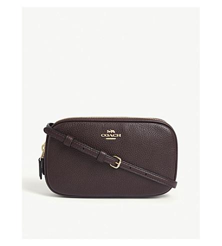 COACH Leather cross-body bag (Li/oxblood