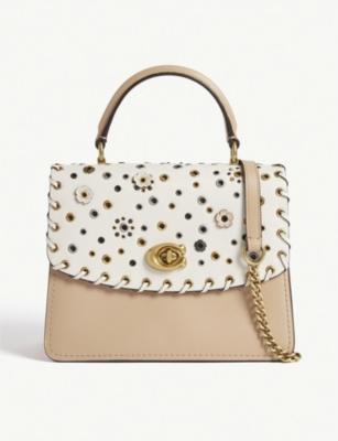 Parker top handle leather shoulder bag(7944631)