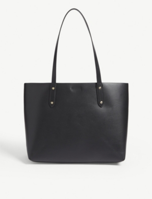 Market leather tote(7944653)