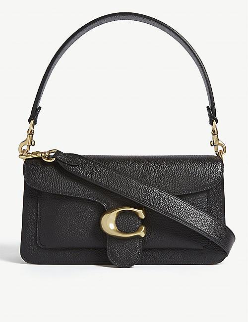 COACH Tabby pebbled-leather shoulder bag