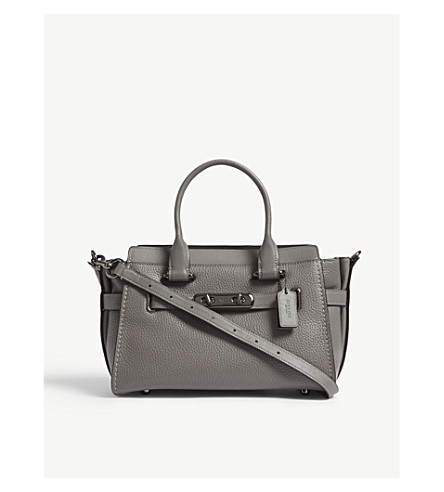 COACH Coach Swagger 27 shoulder bag (Dk/heather+grey