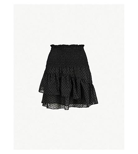 GANNI 茉莉花绉裙 (黑色