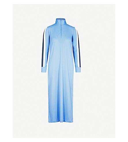 GANNI Dubois woven midi dress (Marina