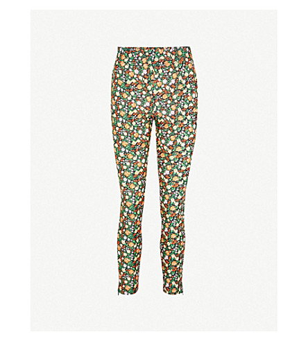 GANNI Alameda stretch leggings (Multicolour
