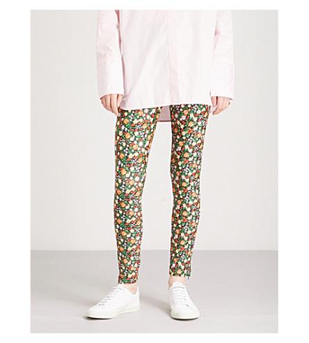 GANNI Alameda stretch leggings (Multicolour