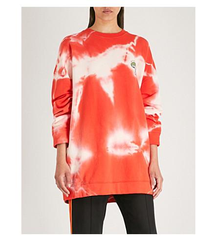 jersey Stonecrop jersey cotton Stonecrop GANNI apple red sweatshirt cotton sweatshirt Big GANNI 0Anq7nUX