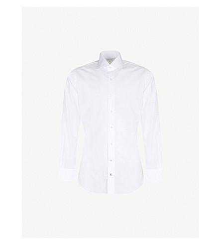 EMMETT LONDON Chelsea fine poplin shirt (White