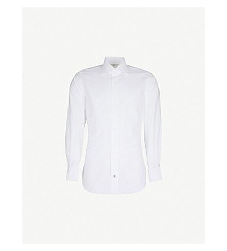 EMMETT LONDON Chelsea slim-fit cotton shirt (White