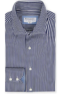 EMMETT LONDON Stretch collar striped shirt
