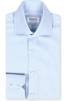 EMMETT LONDON Panama slim-fit double-cuff shirt
