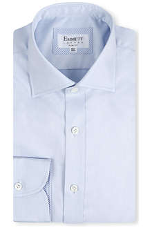 EMMETT LONDON Chelsea-collar slim-fit single-cuff shirt
