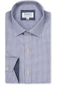 EMMETT LONDON Gingham slim-fit shirt