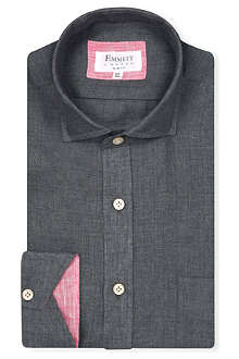 EMMETT LONDON Sahara slim-fit linen shirt