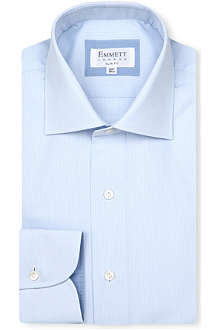 EMMETT LONDON Milano-collar cotton shirt