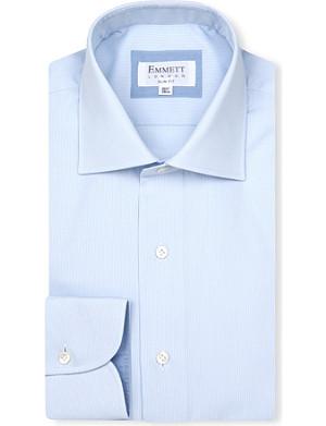 EMMETT LONDON Milano-collar cotton shirt