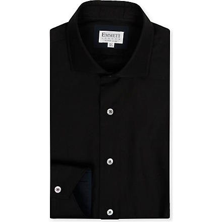 EMMETT LONDON Hugo super slim-fit shirt (Black