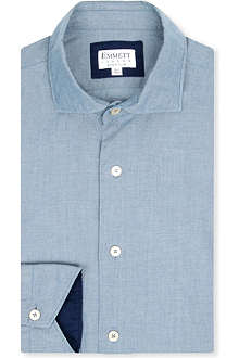 EMMETT LONDON Hugo denim super slim-fit shirt