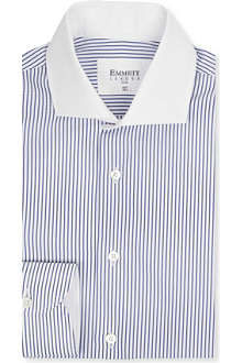 EMMETT LONDON Contrast collar striped shirt