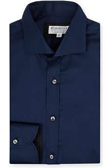 EMMETT LONDON Slim-fit spread collar shirt