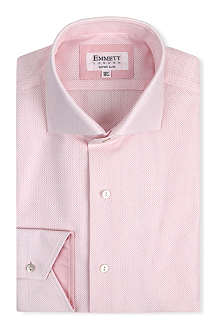 EMMETT LONDON James Bond super-slim single-cuff shirt