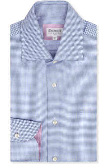 EMMETT LONDON Houndstooth slim fit shirt