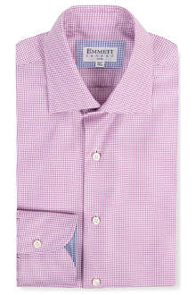 EMMETT LONDON Mini houndstooth print shirt