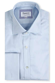 EMMETT LONDON Milano slim-fit double-cuff shirt