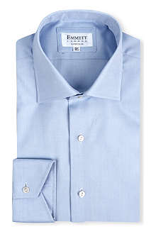 EMMETT LONDON Milano super slim-fit single-cuff shirt
