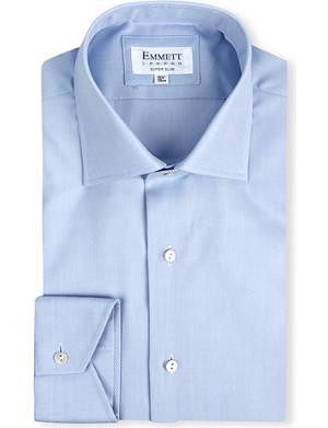 EMMETT LONDON Milano super slim-fit single-cuff shirt